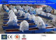 China 300T Anti Drifting Welding Rotators VFD Rubber Roller distributor