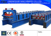 China YX51-240-720 Type Metal Deck Roll Forming Machine Uesd 1.0-1.5mm Thickness PPGI company