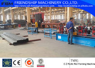 China Automatic PLC Control System C Z Purlin Roll Forming Machine For Roofing Sheet company