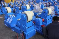China 300T Anti Drifting Welding Rotators VFD Rubber Roller factory