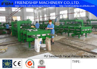 China Simple And Cheap Discontinous Type PU Sandwich Panel Production Line company