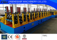 17 Stations and Two Waves Roll Station Guardrail Roll Forming Equipment Machine With Gearbox Drive