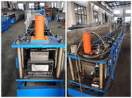 China Durable 7.5Kw Aluminum Round Gutter Roll Forming Machine For Downspout company