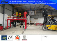 China Semi Trailer Chassis Beam Welding Line Trailer Beam Hydraulic Assembly With Lincoln Electric company
