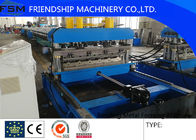 China Hydraulic Color Steel Roof Bending Metal Forming Machines For 0.4 - 0.8mm Thickness company