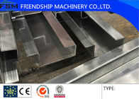 China Full Automatic 3mm GI Door Frame Metal Roofing Machine Use Gearbox Driven company