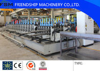 China Automatic High Speed Cable Tray Roll Forming Machine With Gearbox Driven Automatic punching holes company