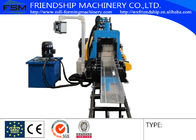 Light Type Cable Tray Roll Forming Machine Automatic Hydraulic Punching Part Small PLC Control