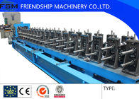 China 100 - 400 mm Size Galvanized Cable Tray Roll Forming Machine With 63Ton Punching Press Machine company