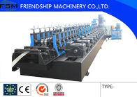 China size 41x41 Solar Rack Roll Forming  Machinery For 1.5 - 2.0mm Thickness GI And Stainless Steel company