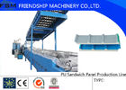 China Continuously Automatic PU Sandwich Panel Production Line Two Tanks company