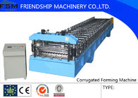 China Automatic Corrugated Sheet Roll Forming Machine For 4 mm - 8 mm Steel Panel company