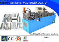 China 5.5KW Main Channel Metal Forming Machinery , Roll Forming Machine factory