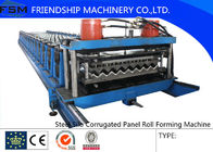 Automatic Galvanized Steel Silo Corrugated Wall Sheet Roll Forming Machine