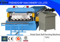 Metal Deck Roll Forming Machine With New Station Model For External Wall Board
