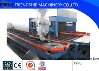 China 12000*12000mm PU Sandwich Panel Production Line With PLC Control System company