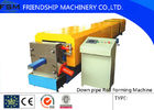 Best Automatic Custom Downspout / Down Pipe Roll Forming Machine For Rain Pipe