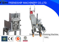 China Custom Downspout And Elbow Forming Machine For Downspout / Down Pipe company