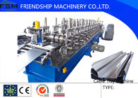 China Manual 22KW Cable Tray Roll Forming Machine 3Phase with 6 Tons company