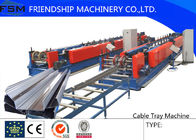 China 7.5KW Hydraulic Decoiler Roll Forming Machines For 0.7mm - 1.5mm Thickness Cable Tray company