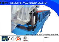 China Galvanized Steel Sheet 15m/Min Roll Forming Machines With Hydraulic Station company