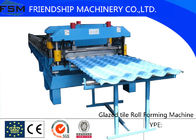 China Corrugated Glazed Tile Roll Forming Machine For Modern Architecture Roofing company