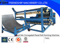 China Automatic Galvanized Corrugated Culvert Pipe Making Machine For Water Conservancy Project company