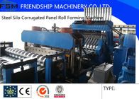 China 4m/min - 8m/min Galvanized Sheet Steel Silo Corrugated Culvert Pipe Making Machine For Channel company