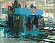 China SKJ Flame Cutting And Locking Machine / Roll Forming Machinery factory
