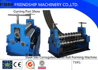 China Corrugated Sheet Rotary Bender Corrugated Roll Forming Machine Thinckness 2mm - 4mm company