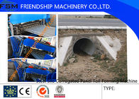 China Automatic Roll Forming Machine Galvanized Steel Silo Culvert Pipe Making 4m/min - 8m/min company