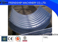 China Steel Corrugated Side Panel Culvert Pipe Making Machine Plate Joining Together company
