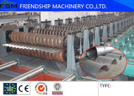 China 70T Galvanized Plate Steel Silo Forming Machine , Steel Corrugated Sheet Roll Forming Machine company