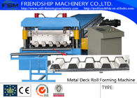 China 15m/min Metal Deck Roll Forming Enquipment Color Steel With PLC System company