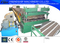China 828/1000mm Metal Deck Roll Forming Machine With 10T Hydraulic Decoiler Motor 15KW 3 Phase 50Hz company