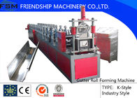 China Seamless Gutter Forming Machine With 18 Stations And 375mm Coil Width company
