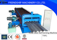 China 18kw 10m/min 1.5mm GI Metal Deck Roll Forming Machine Use Galvanized Steel Sheet With PLC Control Systerm company