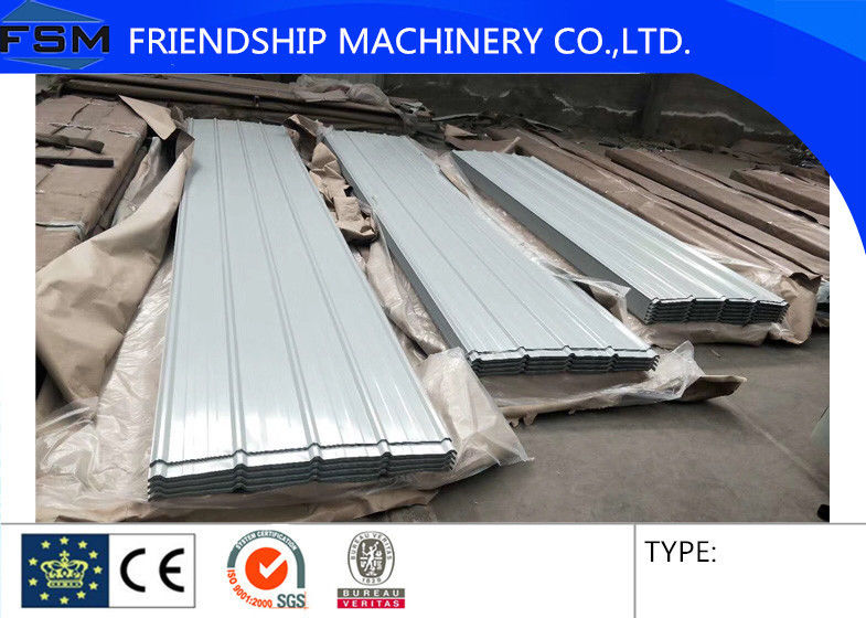 Width 760 800mm Color Steel Roofing Corrugated Sheet Metal Thickness 0 3 0 8mm