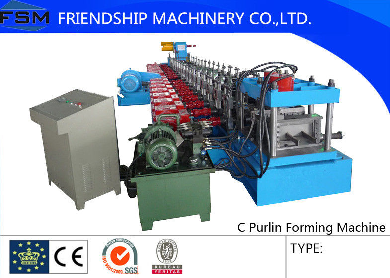 Hot Rolled Coils c Purlin Roll Form Machines Gcr15 Quenched