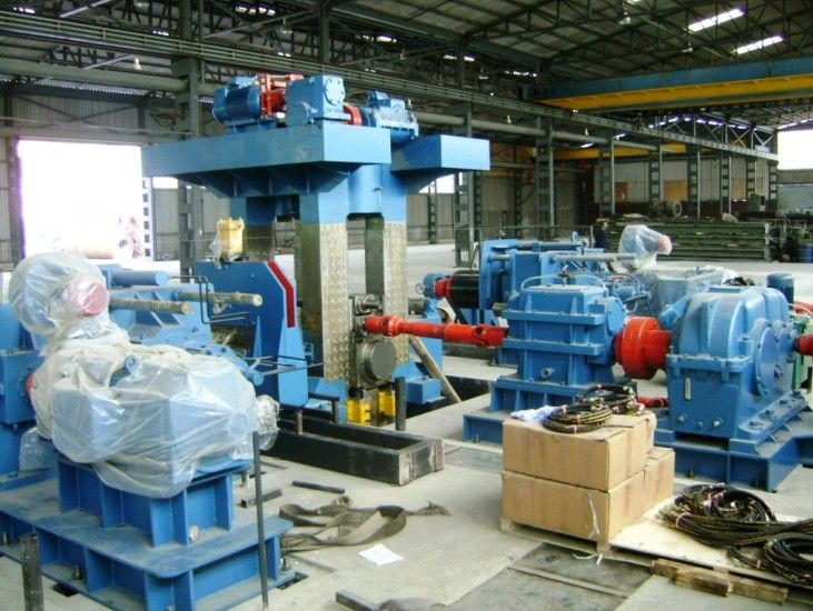 AC Cold Rolling Mill Roll Forming Machinery 200×380×400 Four-roller