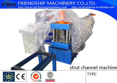 China GI Steel 1.2 - 2.0mm Stud Roll Forming Machine Used For Light Steel Stud and Track factory