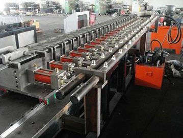 China High Precision 4KW Stud Roll Forming Machine For Light Steel Roof Ceiling Batten factory