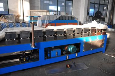 China PLC Control Stud Roll Forming Machine With Hydraulic Cutting , Forming Speed 0 - 15m / min factory