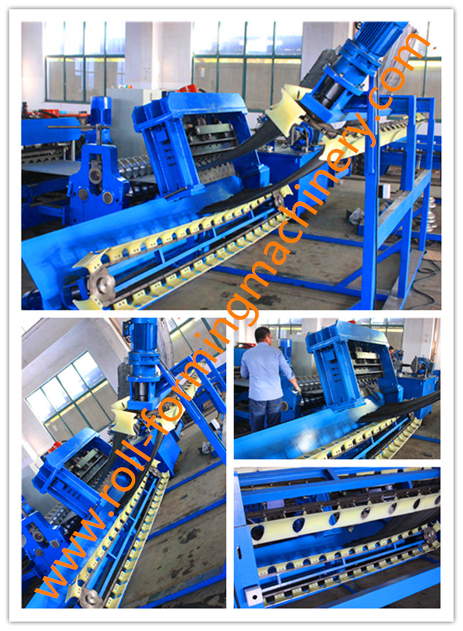 20 Forming Stations Corrugated Sheet Roll Forming Machine 2 mm Panel