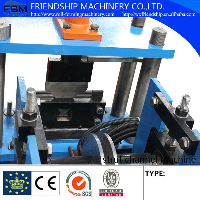 GI Steel 1.2 - 2.0mm Stud Roll Forming Machine Used For Light Steel Stud and Track