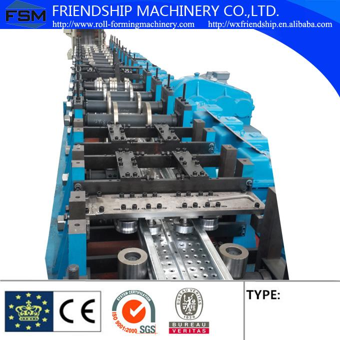 800 mm - 6000 mm Width Cable Tray Roll Forming Machines with High Forming Speed 1.5-2.5mm GI Steel