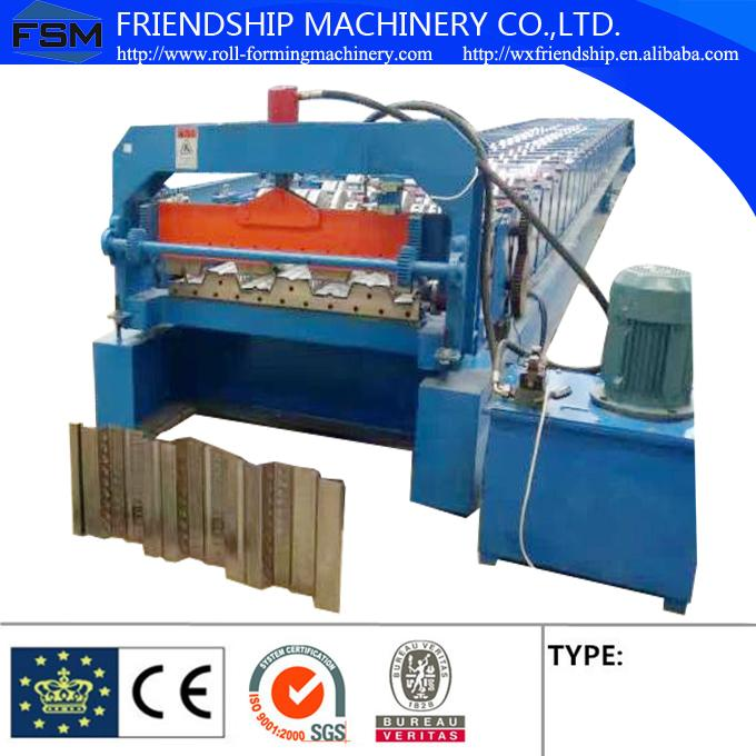 Automatic 28 Stations And 10T Manual Decoiler Roll Forming Machine With 1.5MM - 2.5MM