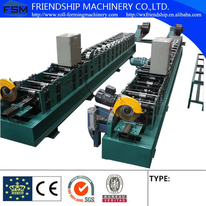 High Quatily 80mm/100mm Round Down Pipe Roll Forming Machine With Hydraulic Cutting