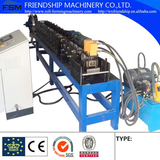Hydraulic Cuttin Stud Roll Forming Machine / C Z Purlin Roll Forming Machine